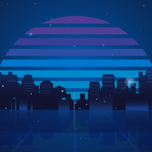 Synth City night